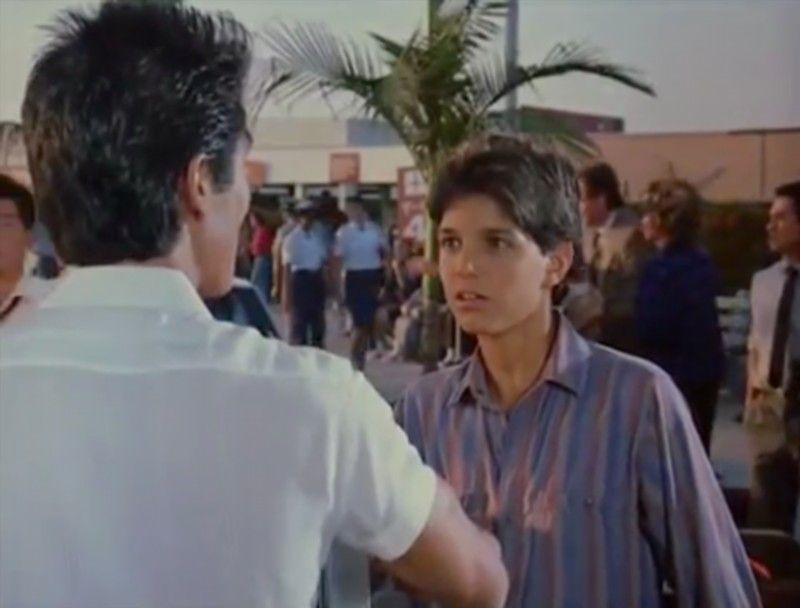 Ralph Macchio as Daniel LaRusso in The Karate Kid, Part II (1986)