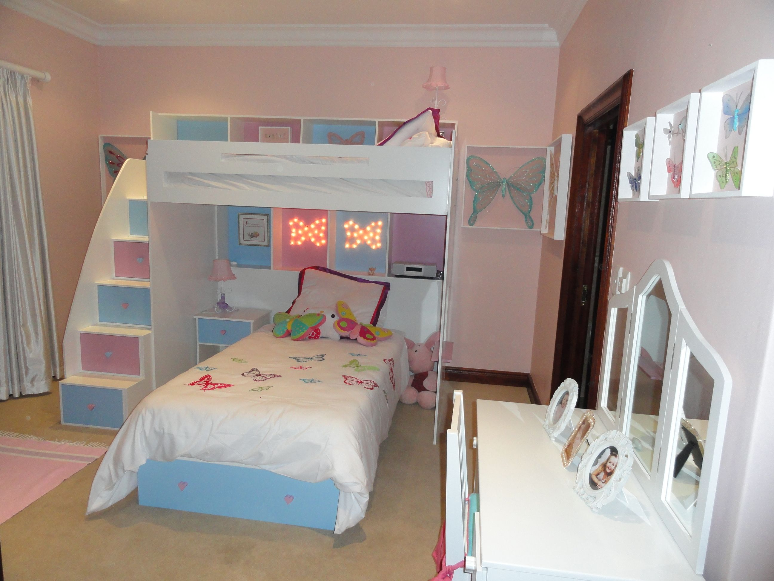 Kylie Bunk Bed Single Top And Lower Bed With Storage Draw Double
