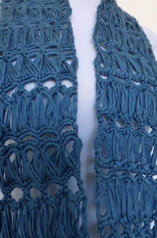broomstick lace infinity scarf | makes/crochet | Pinterest