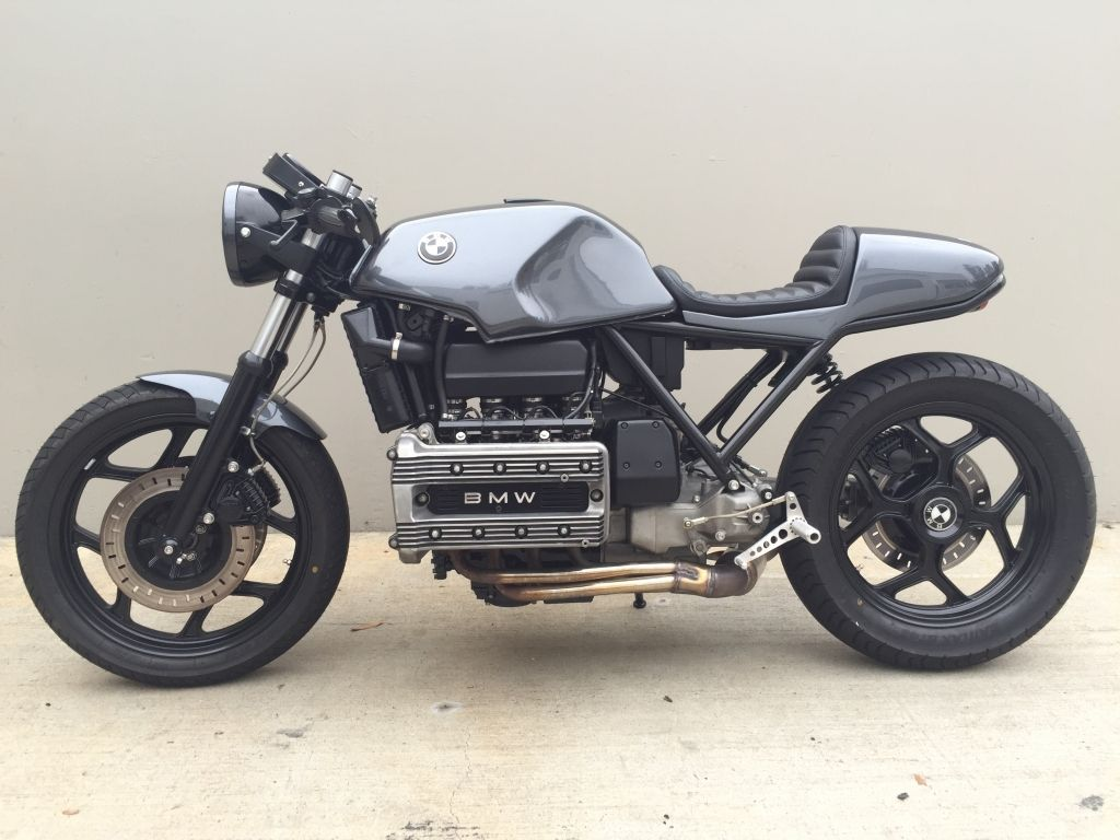 1984 K100 Cafe Racer Budget Build Bmw K75 K100 K1 K1100 Cafe