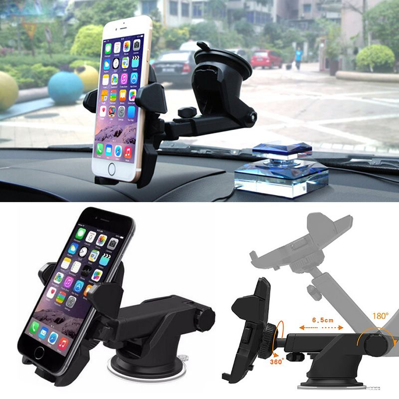 1PC Mount Holder Car Windshield Stand For Mobile Cell Phone GPS iPhone Samsung