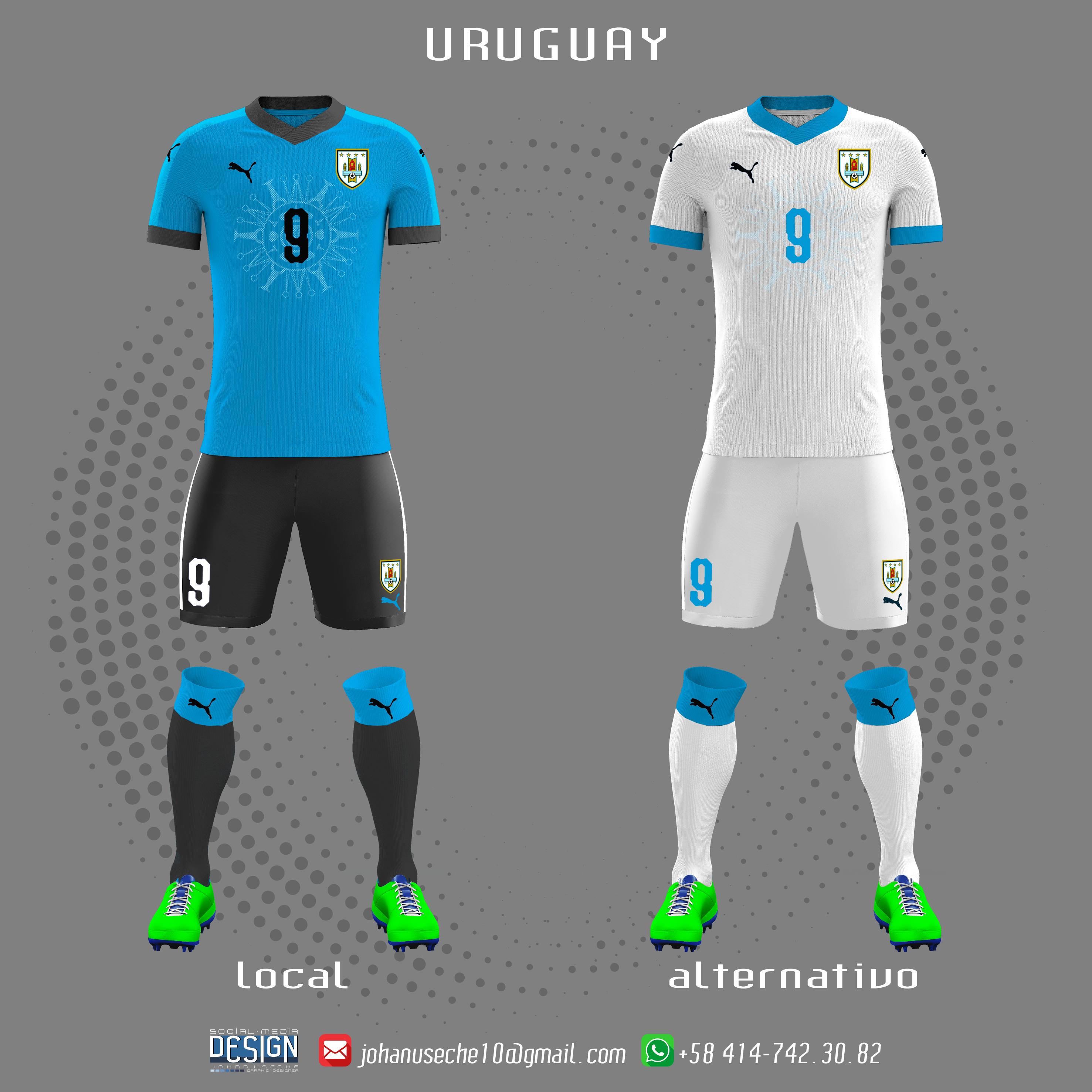 b517704755c kit Uruguay copa américa 2019 (no oficial)