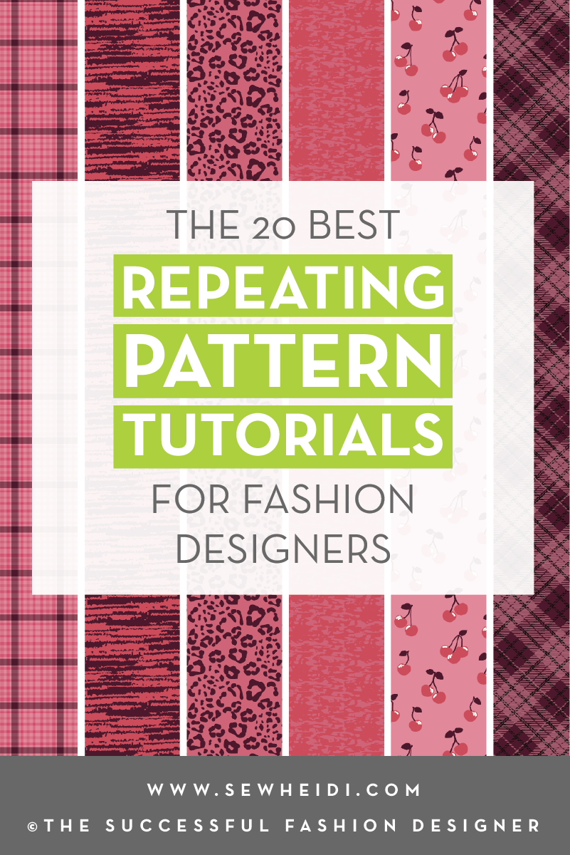The 20 Best Illustrator Photoshop Repeating Pattern Tutorials