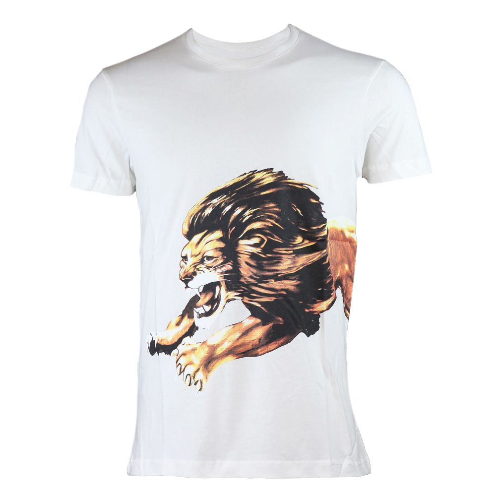 7cf30f7c Givenchy Lion T-Shirt 100% Cotton White Made in Italy Brand New #fashion  #clothing #shoes #accessories #mensclothing #shirts (ebay link)