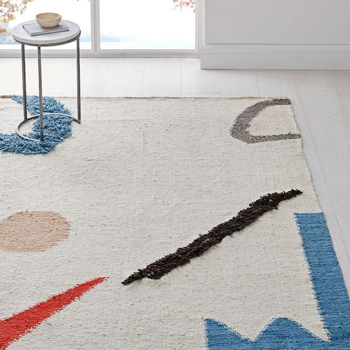 Abstract Shapes Rug West Elm