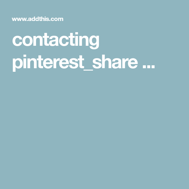 contacting pinterest_share ...