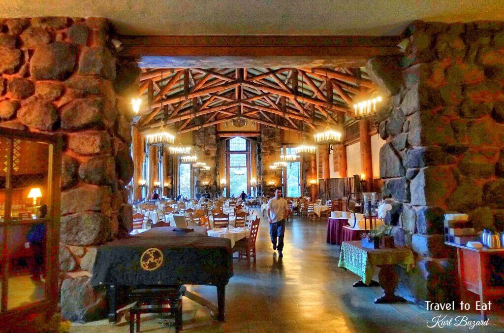 Dining Room. Majestic Yosemite (Ahwahnee) Hotel, Yosemite