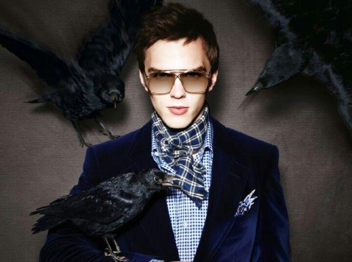 Nicolas Hoult is a model!