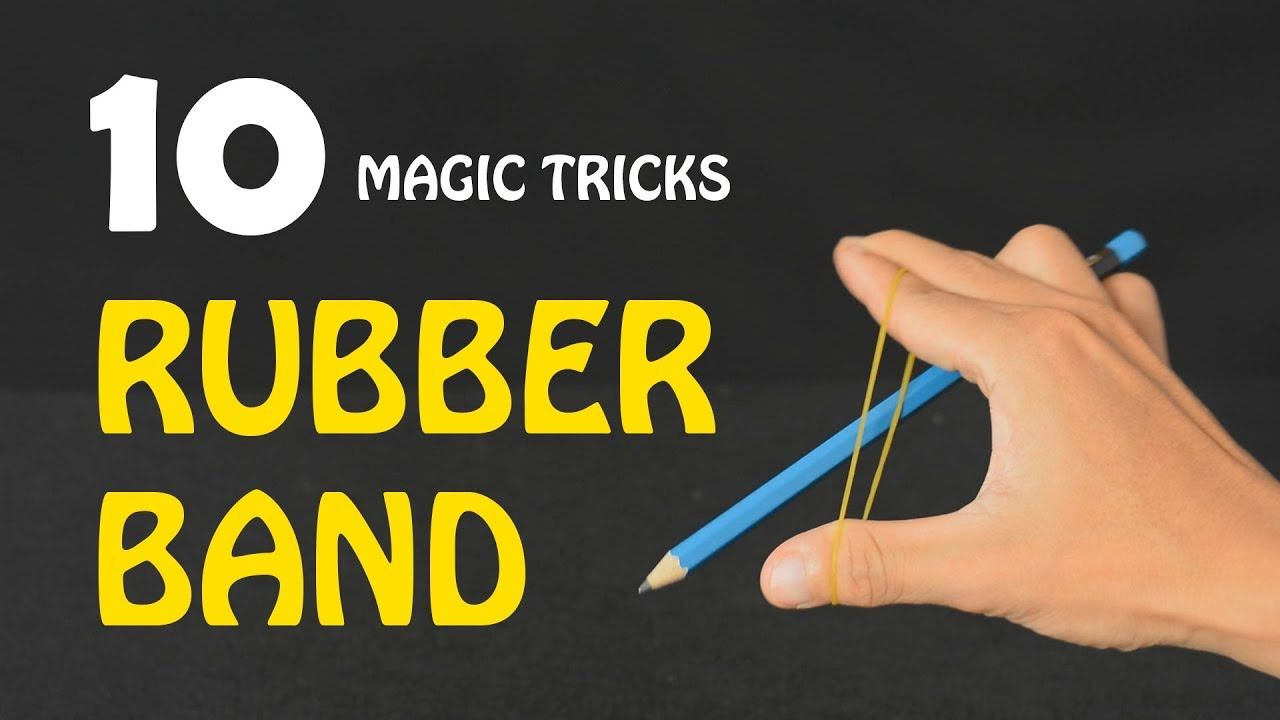 Pin By Mr Duck On Experiments Magic Tricks Revealed Magic Tricks Rubber Bands