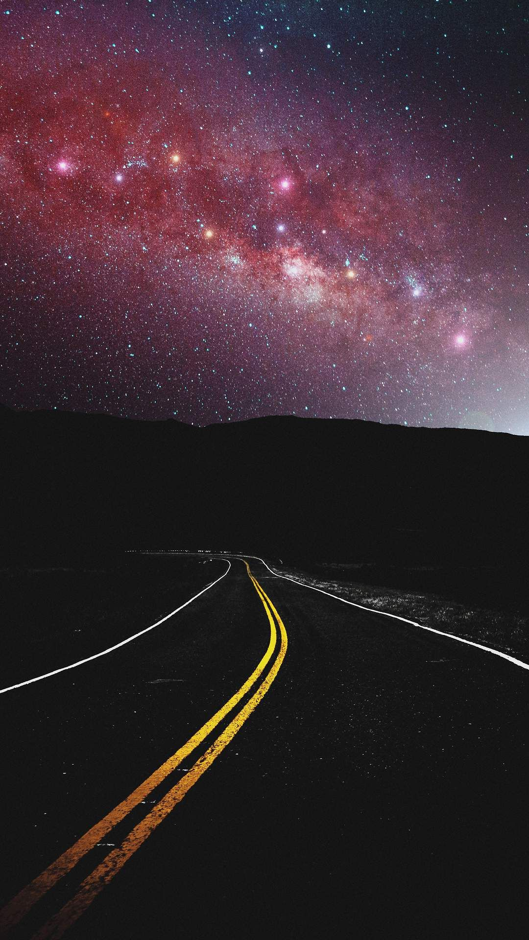 Milky Way View From Road Iphone Wallpaper In 2020 Nature Iphone Wallpaper Iphone Wallpaper Fall Iphone Wallpaper Images