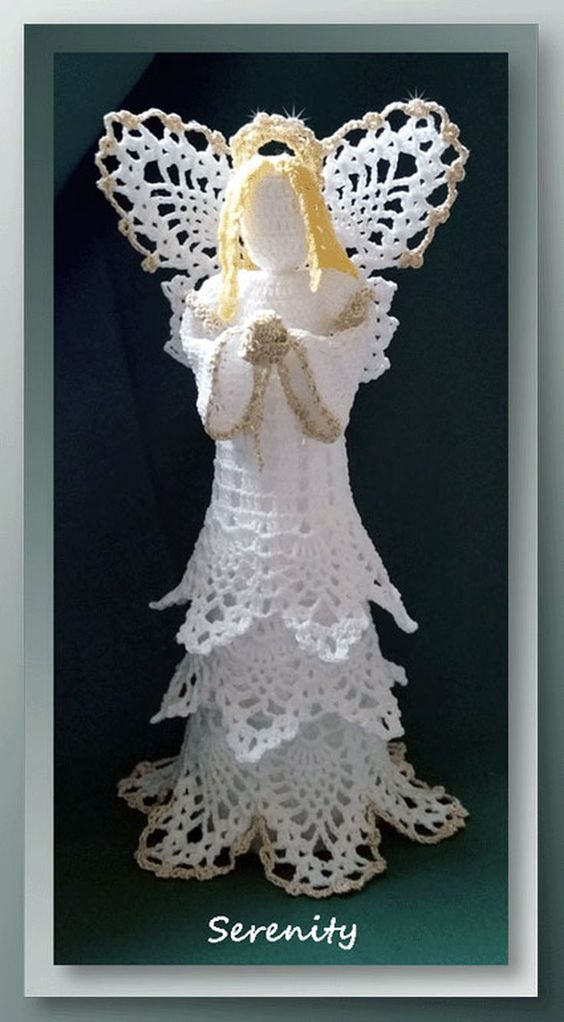 Free Crochet Angel Patterns For Holidays And Decor Crochet Angels
