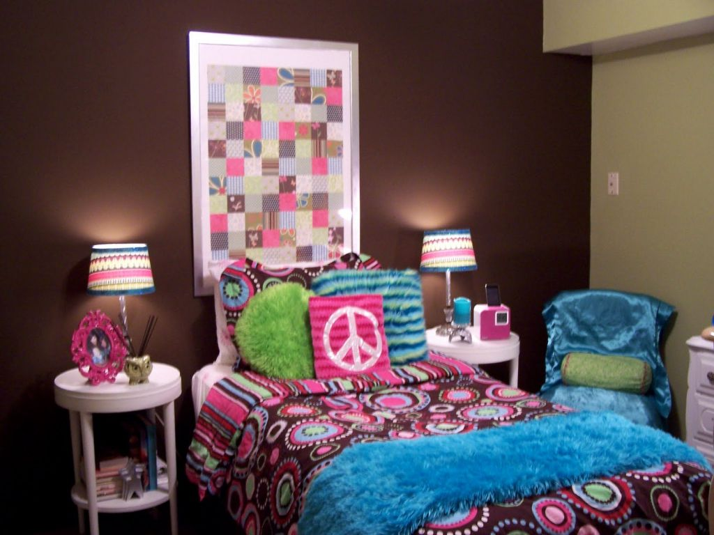 Cool ideas for decorating teenage girl bedroom modern home