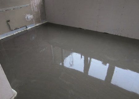 Home Dzine Self Levelling Cement Screed Floor In Kitchen