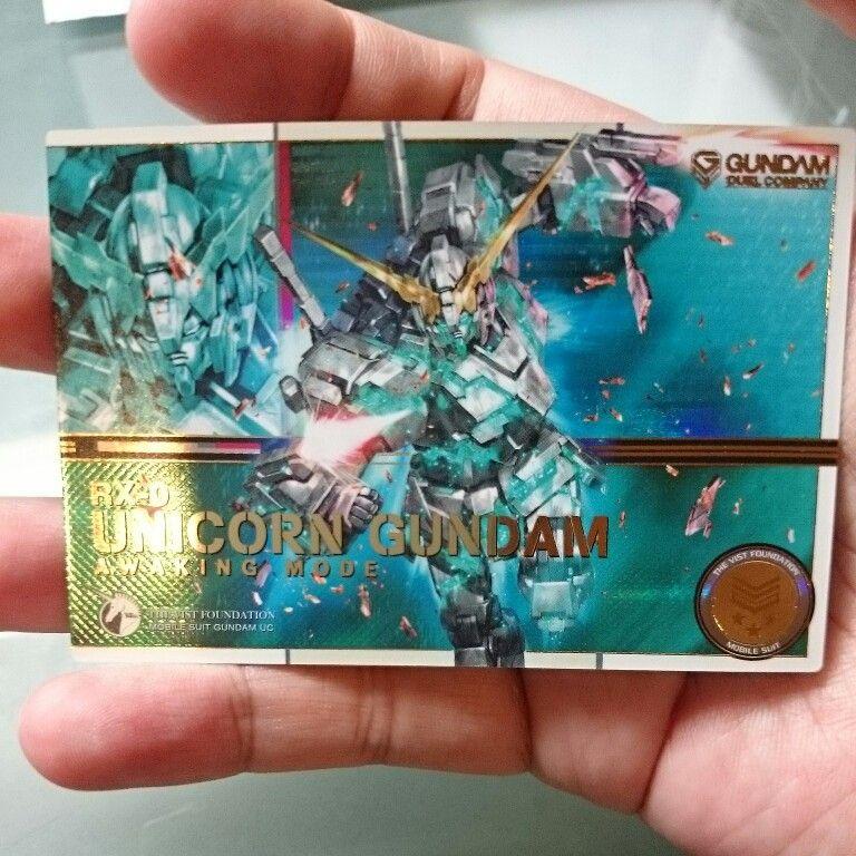 Unicorn Gundam awaking mode
