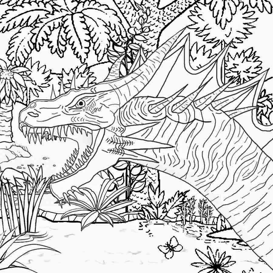 Complicated Dragon Coloring Pages Coloring Pages For Boys Halloween Coloring Pages Dinosaur Coloring Pages