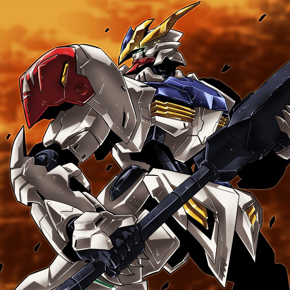 Mobile Suit Gundam Iron Blooded Orphans Asw G 08 Gundam Barbatos Gundam Iron Blooded Orphans Gundam Gundam Art