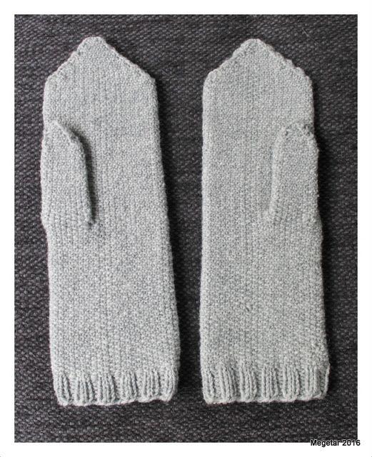 Megetar: Lapaset palttinasilmukalla