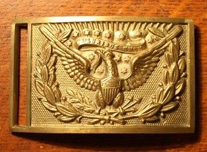 Us Army Officer S Federal Eagle Sword Belt Plate