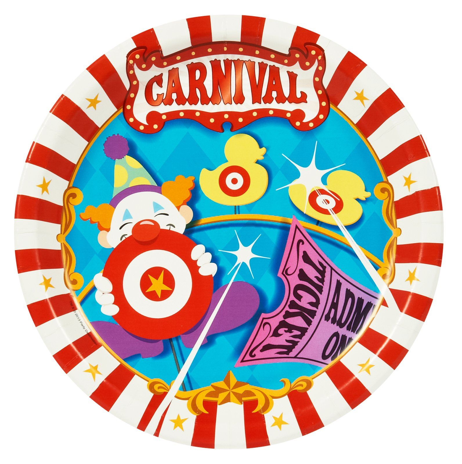 Birthday party ideas · Carnival Games Dinner Plates ...  sc 1 st  Pinterest & Carnival Games Dinner Plates | Carnival games Carnival parties and ...