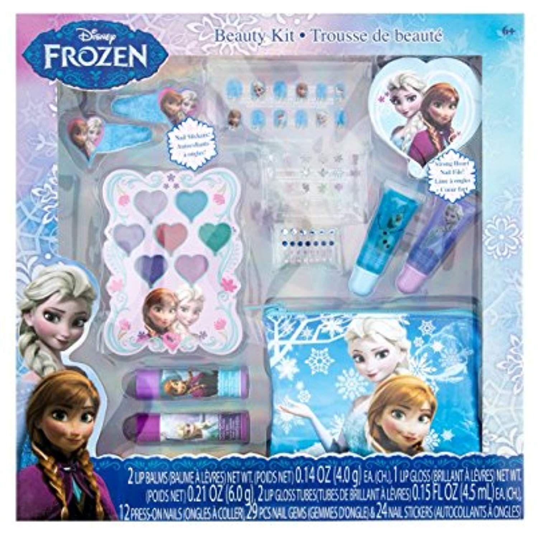 Townley Girl Disney Frozen Beauty Kit Lip Balms Glosses