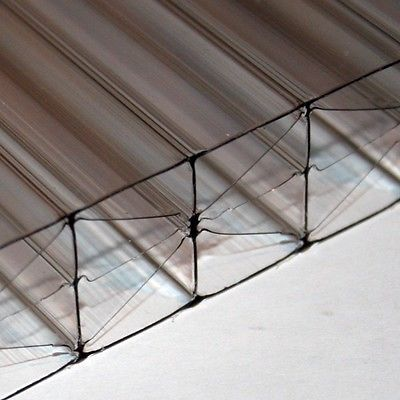 25mm Polycarbonate Roofing Sheet Clear Bronze Opal Conservatory Roof Sheeting Ebay Conservatory Roof Roofing Sheets Roofing