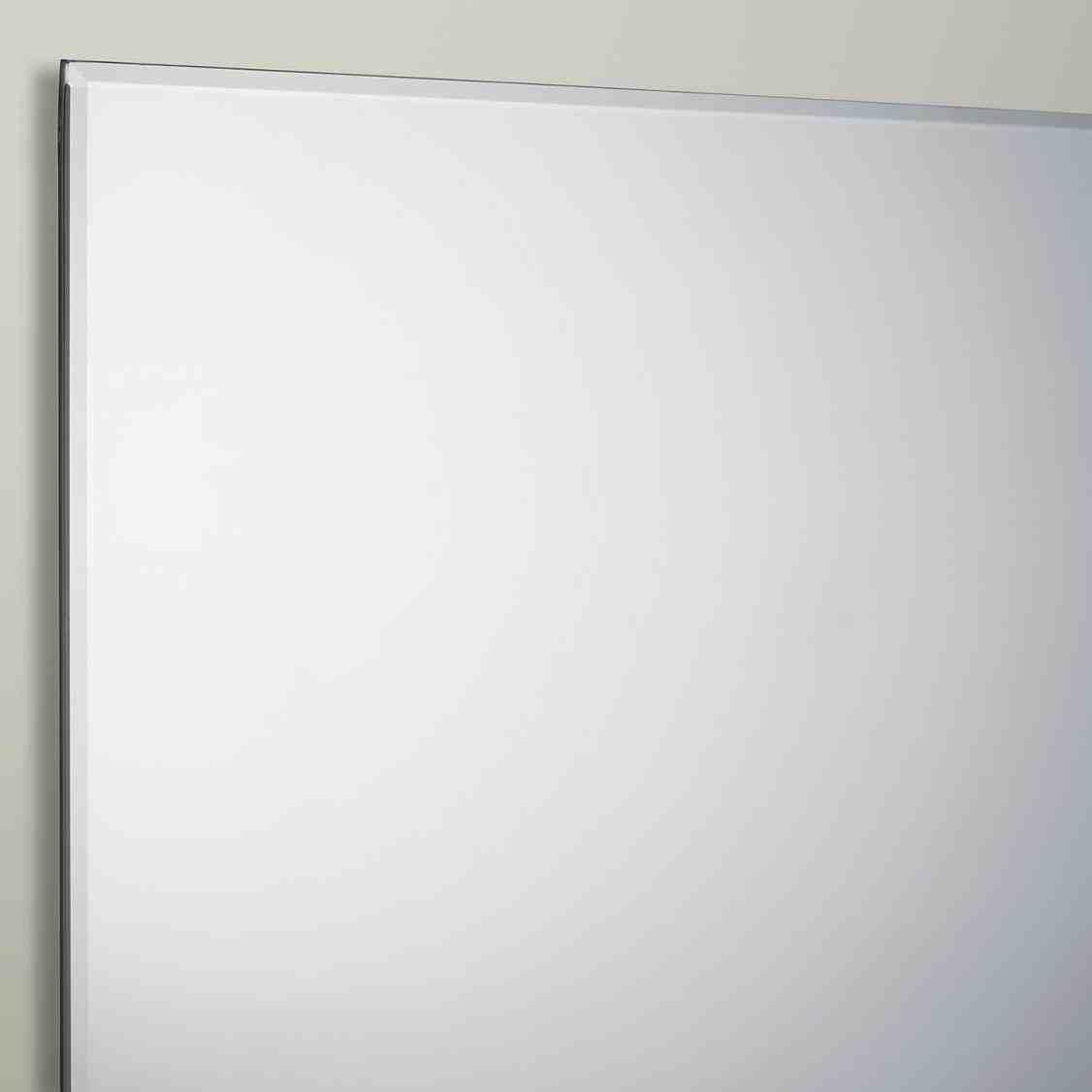 New Post bevelled edge bathroom mirror   LivingRooms   Pinterest ...