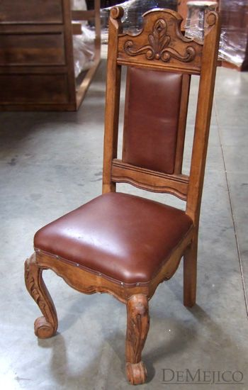 Silla Conquista Rustic Dining Chairs Chair Mexican Chairs