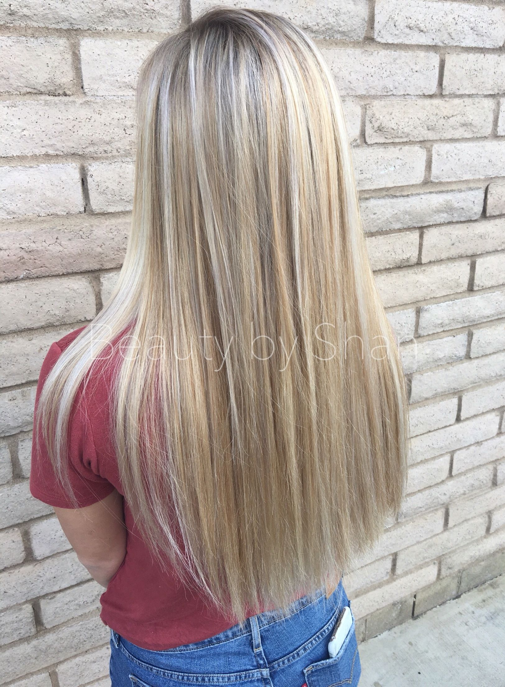Full Head Of Highlights Done By Beauty By Shan Beauty By Shan