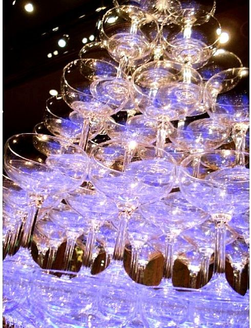 シャンパンタワー pinterest