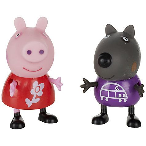 Buy Peppa Pig Theme Park Figures, Pack of 2, Assorted Online at johnlewis.com 4.99