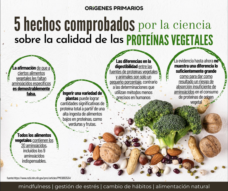5 Hechos Comprobados Por La Ciencia Sobre La Calidad De Las Proteínas Vegetales Proteina Vegetal Vegetales Habitos Mx
