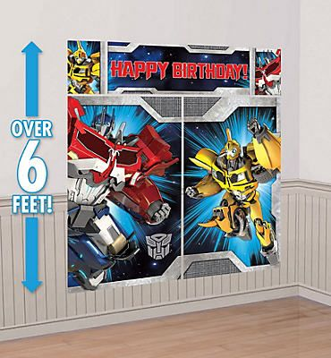 Transformers Scene Setter Party City Pinterest Scene setters - halloween scene setters decorations