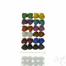 Dámske náušnice MIX farieb set #bizuteria #doplnky #accessories