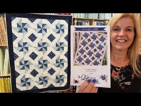 60 Fab Five Fun At Jordan Fabrics Windmills Quilt Tutorial Youtube Quilt Tutorials Quilting Tutorials Quilts