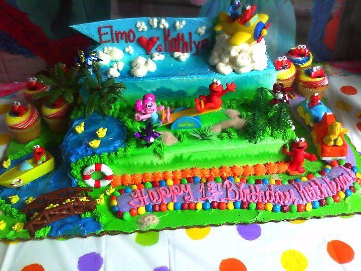 Elmo Birthday Cake Publix Good Eats Pinterest Elmo