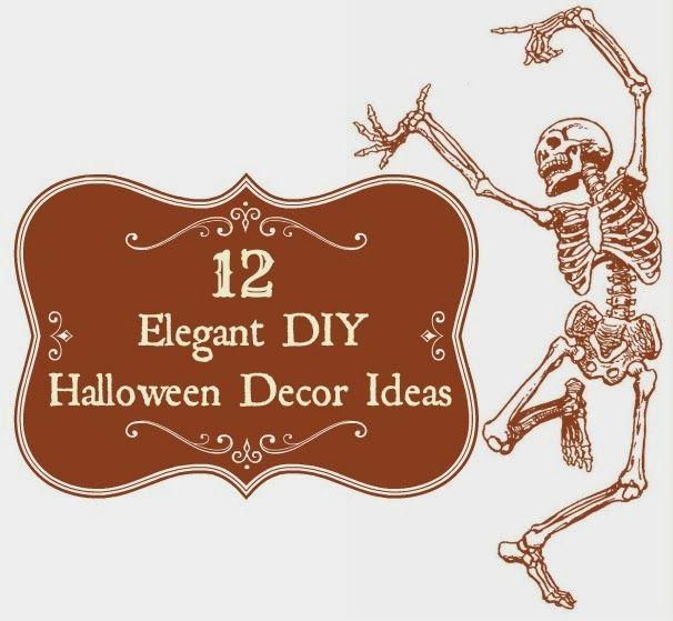 12 Elegant Diy Vintage And Shabby Chic Halloween Decor