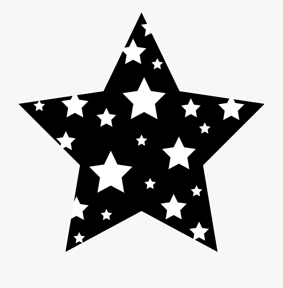 Black And White Star Clipart Images In 2021 Black And White Stars Star Clipart Clip Art