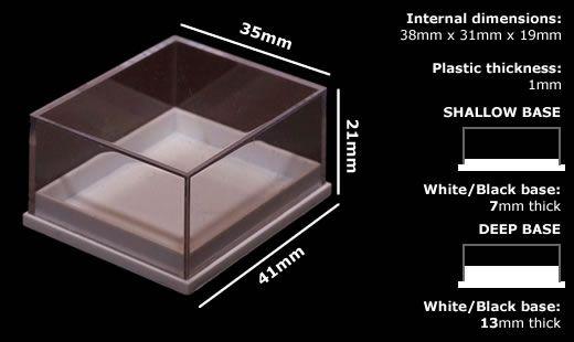 Plastic Specimen Boxes Ideal For Fossils Rocks And Minerals Rocks And Minerals Display Boxes Specimen