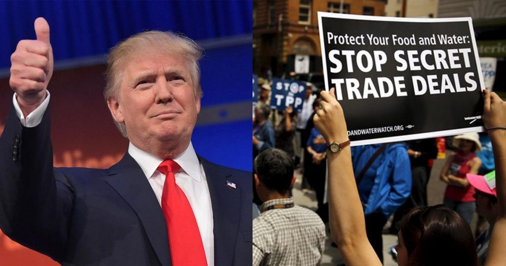 In yet another bold move in their initial days in office, U.S. President Donald Trump and team have announced their withdrawal from the controversial Trans-Paci