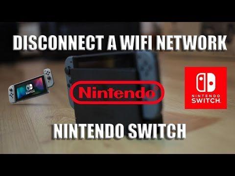 How To Delete Wi Fi Network Nintendo Switch Tutorial Youtube Nintendo Switch Networking Tutorial