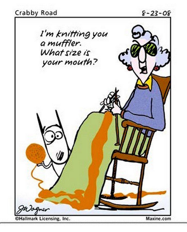 Cartoon Quotes: Chucks Fun Page 2: Maxine