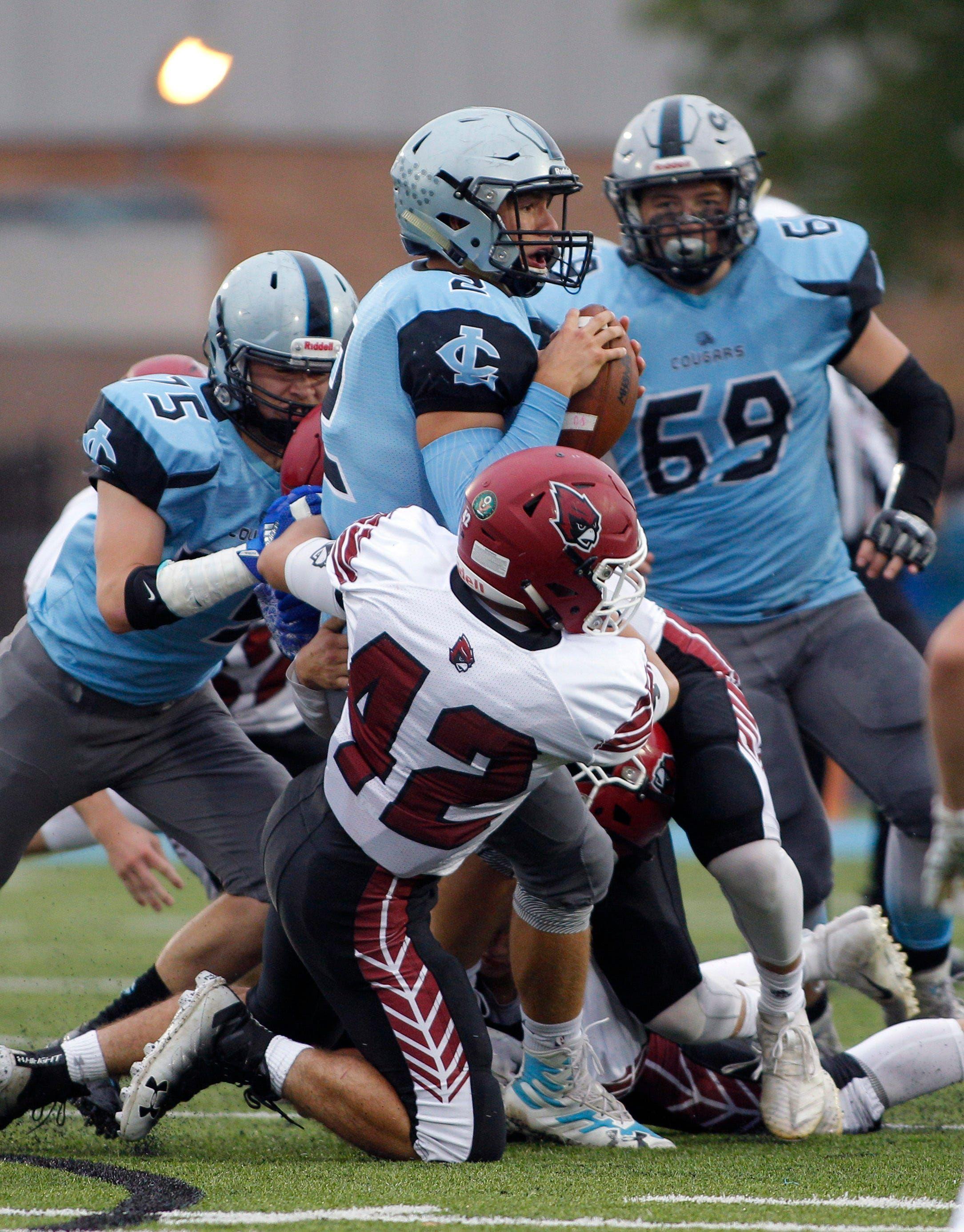 Michigan high school football scores from week 5 school