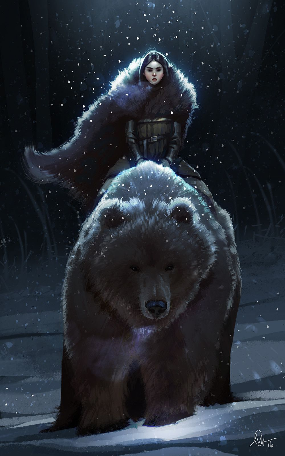 Young Bear (a got fan art), Kelly Perry | Bear art, Character art, Fantasy  artwork