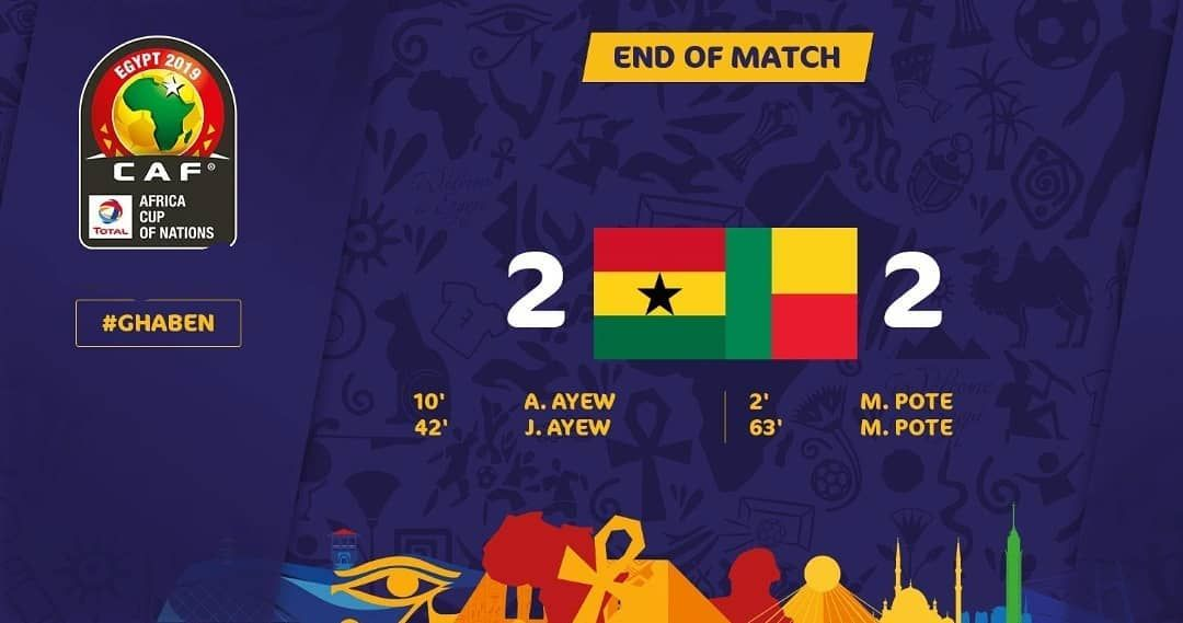 full time result Africa Cup of Nations 2019 Good game