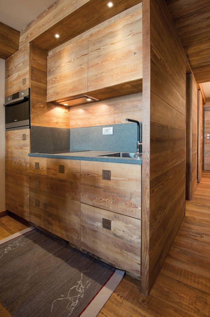Sestriere arte rovere antico nel 2019 arredamento baita for Progettazione interni casa