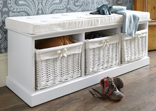 Luxury Hallway Storage Benches