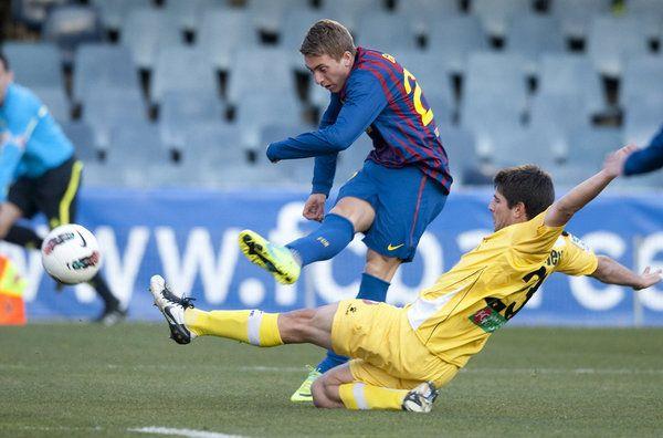 Las mejores imágenes del Barça B-Cartagena 11/02/2012