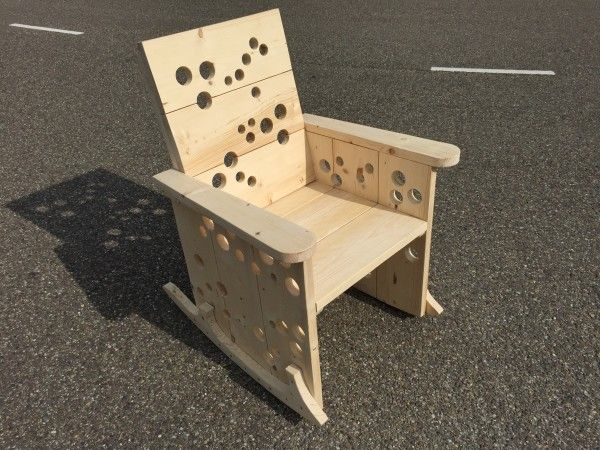 Schommelstoel Wit Praxis.De Praxis Schommelstoel Maken Diy Wood Furniture Stool