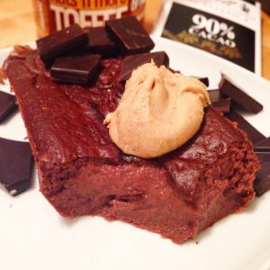 Chocolate Truffle Protein Brownie