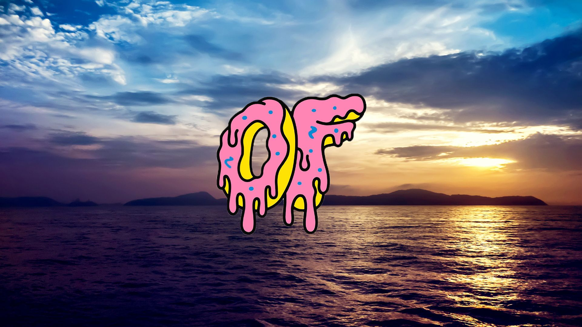 This Is A 1920x1080 Odd Future Background For Your Desktop I Just Made It I Think Its Pretty Cool Just Tell Me If You Want More Planos De Fundo Fundos
